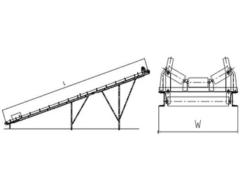 皮带运输机的工作原理