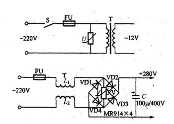 压敏电阻器的工作原理